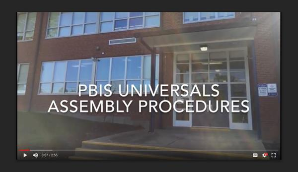 PBIS Assembly Universals