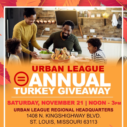 Urban League Annual Turkey Giveway Flier