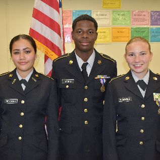 Army JROTC Leaders